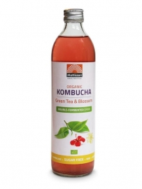 Kombucha Drink Green Tea Blossoms (Bio)