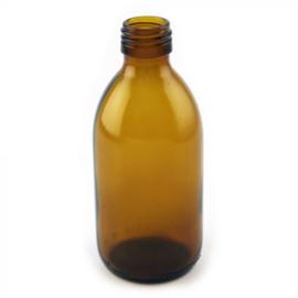 Medicijnfles glas bruin - 250 ml