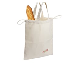 Broodtas met Hengsels 100% Katoen (Bio)