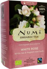 Witte Thee Rozen Theezakjes (Bio + Fairtrade)
