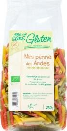 Penne Tricolore Glutenvrij (Bio)