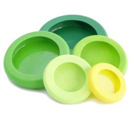 Food Huggers Groen (set van 5)