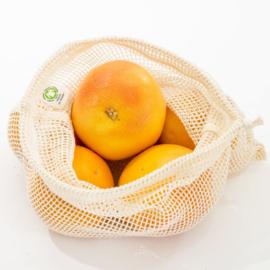 Fruit & Groente Netje 100% Katoen - Medium (Bio)