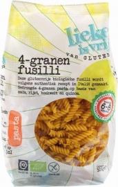Fusilli 4 granen Glutenvrij (Bio)
