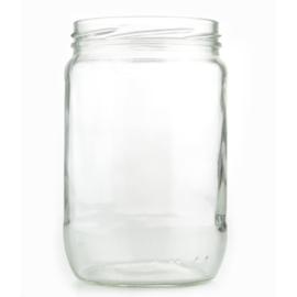 Glazen Pot Rond - 630ml