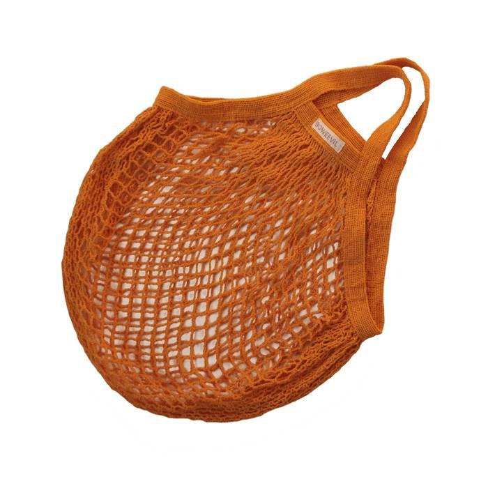 Boodschappentas 100% Katoen - Oranje (Bio)