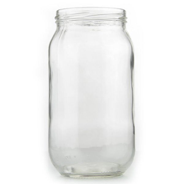 Glazen Pot Rond - 1000ml