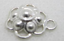 ZB202-Z Zeeuwse Knop hangertje echt Zilver