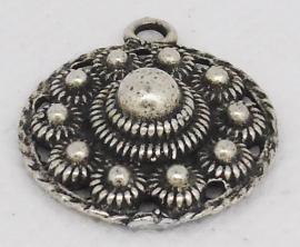 ZB 023 platte zeeuwse knop ong 2,3 cm doorsnede