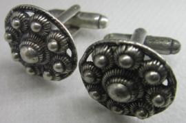 """Zeeuwse knop  manchetknopen """"Goes"""" ZKG 415 per paar"""