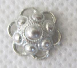 ZB207-Z Zeeuwse Knop bedeltje echt Zilver