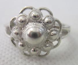 ZKR010-Z Zeeuwse Knop ring echt Zilver
