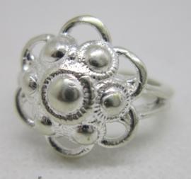 ZKR007-Z Zeeuwse Knop ring echt Zilver