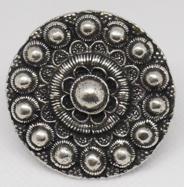 ZKR 313 zeer grote zeeuwse knop ring 4 cm doorsnede