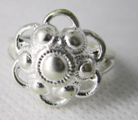 ZKR012-Z Zeeuwse Knop ring echt Zilver
