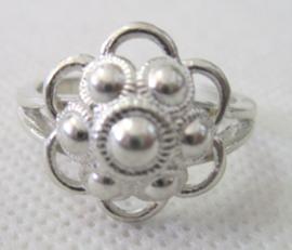 ZKR011-Z Zeeuwse Knop ring echt Zilver