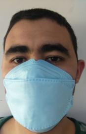 aanbieding, 9 stuks medische mondkapjes KN 95, fpp2 norm online kopen, op voorraad, met CE certificaat