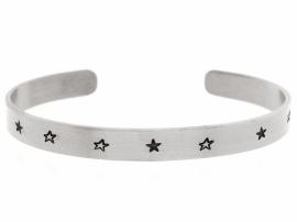 Silver Starz - zwarte sterren