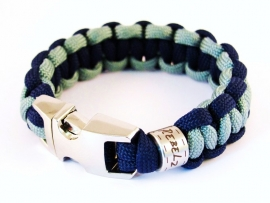 "Double Colored Cobra - ""Design Your Own"" - Paracord Armband"