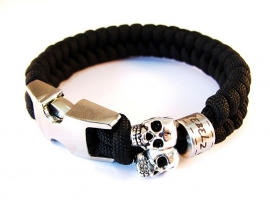 "Silver Skullz - ""Collectie"" - Paracord Armband"