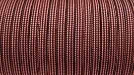 65 - Licht Roze + Zwart Gestreept