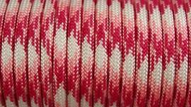 64 - Fuchsia + Licht Roze + Wit