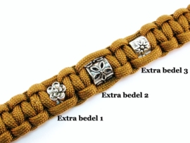 "Paracord Armband - Custom Beaded Cobra - ""Design Your Own"" vanaf"