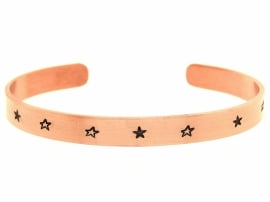 Rosé Golden Starz - zwarte sterren