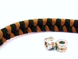 """Double Colored Fishtale - """"Design Your Own"""" - Paracord Armband"""