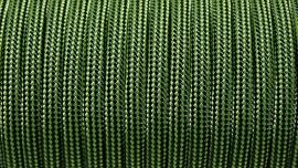 25 - Groen + Zwart Gestreept