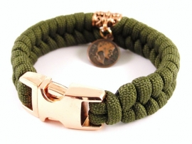 "Gold For Girls Only - ""Collectie"" - Paracord Armband"