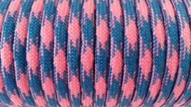 67 - Blauw + Roze