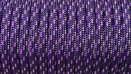 58 - Zwart + Grijs + Paars - Purple Rain