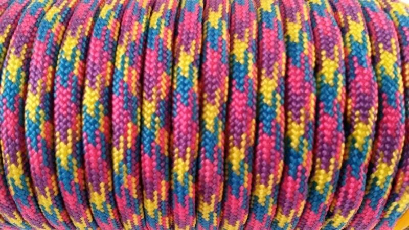 68 - Paars + Blauw + Geel + Roze