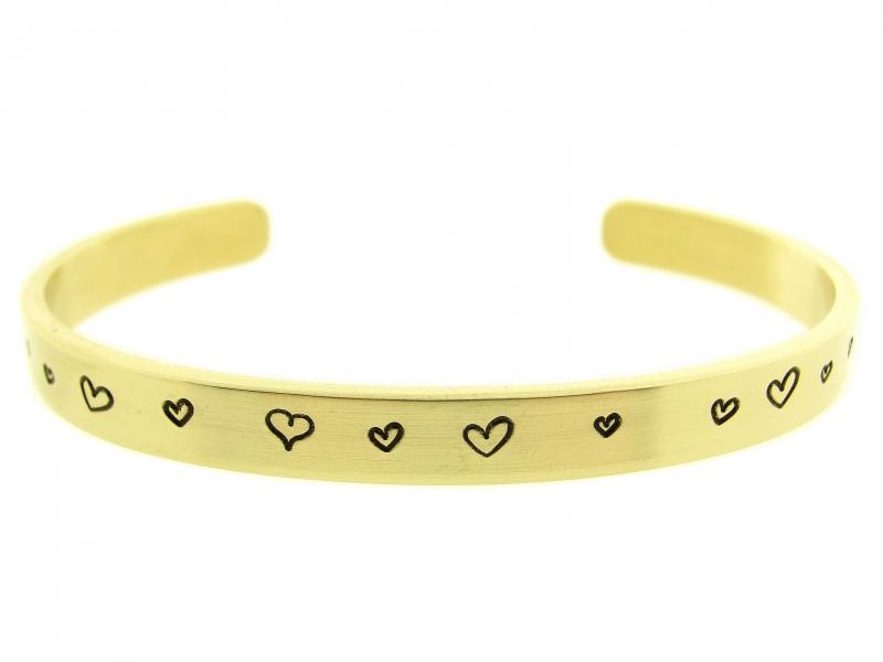 Golden Heartz - zwarte hartjes
