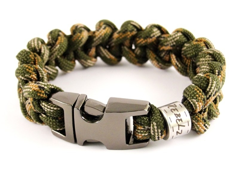 "Single Colored Shark - ""Design Your Own"" - Paracord Armband"
