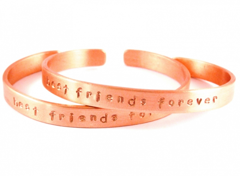 Best Friends Forever Rosé Gold