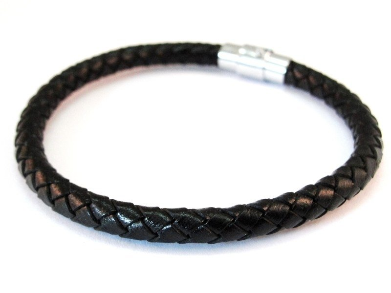 Angelz Braided Leather - Black