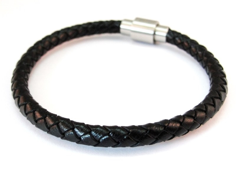 Rebelz Braided Leather Black