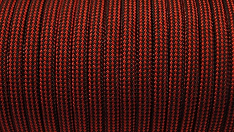 57 - Rood + Zwart Gestreept