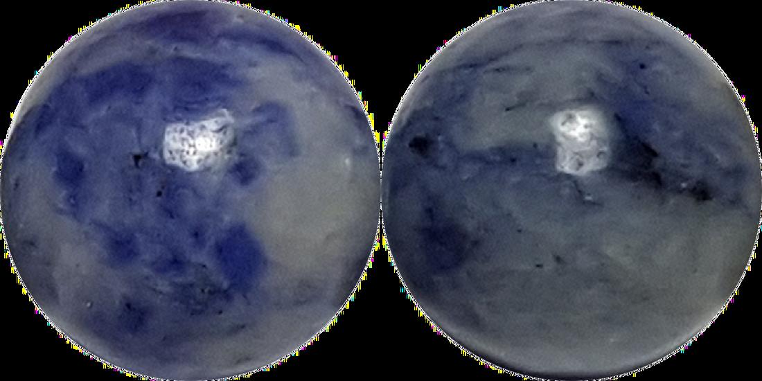 Blue spot stone
