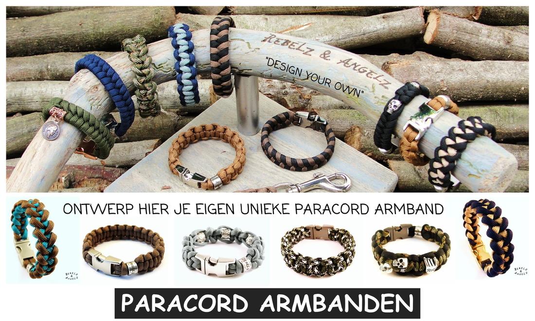 Paracord armband kopen