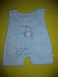 Caroline Jane 1-piece rompers size 0-3 months