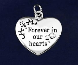 Forever in Our Hearts Charm
