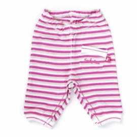 Ducky Beau pants pink stripe  40