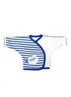 Ducky Beau t-shirt cobalt stripe maat 44