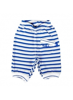 Ducky Beau pants colbalt stripe maat 48