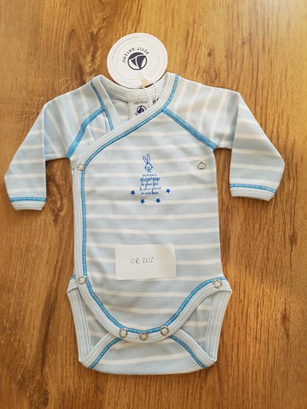 Petit Bateau spielangzug blue stripe 50