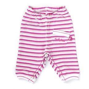 Ducky Beau pants pink stripe maat 44