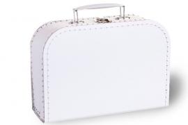 Wit koffertje 30cm